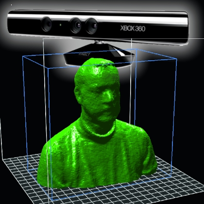 Kinect for 3D scans | Open Electronics