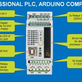 CONTROLLINO: The first ARDUINO compatible PLC | Open Electronics