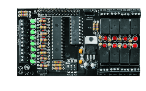 A Great IO expansion Shield for RaspberryPi based on I2C