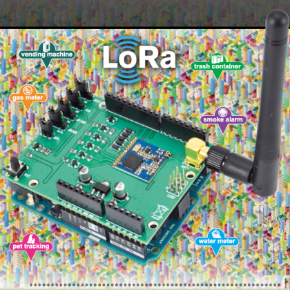 Creating a Network of Nodes with LoRa Shield | Open Electronics