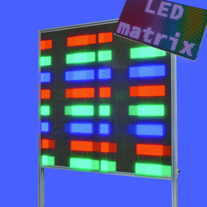 LED MATRIX: giant & stand-alone panels | Open Electronics