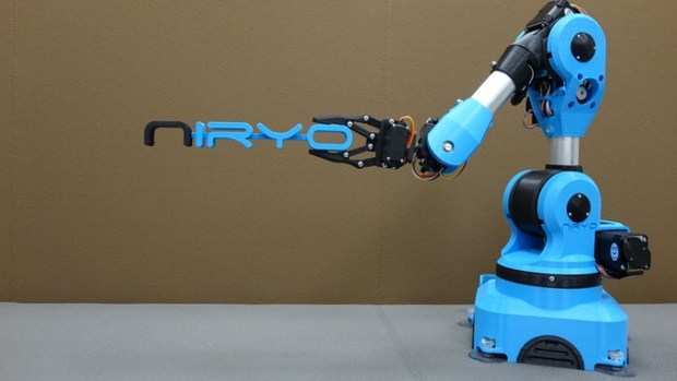 6 Axis Open Source Robotic Arm on Kickstarter | Open Electronics