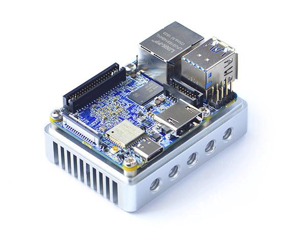Announced the New NanoPi NEO4: the Cheapest & Smallest RK3399 Board
