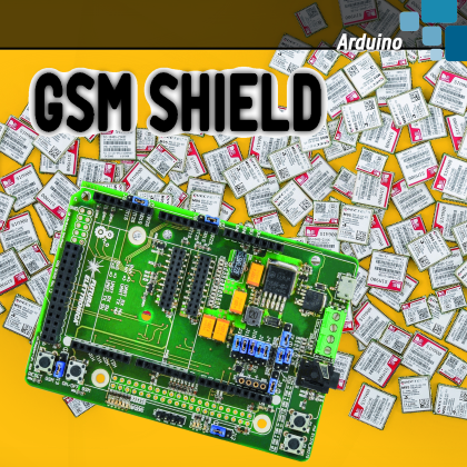 UNIVERSAL GSM SHIELD – The GSM library for Arduino | Open Electronics