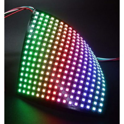 Neopixel 16X16 LED Panel WS2812B – Flexible | Open Electronics