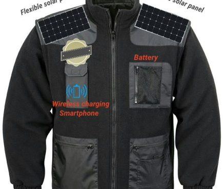 wireless charging work jacket