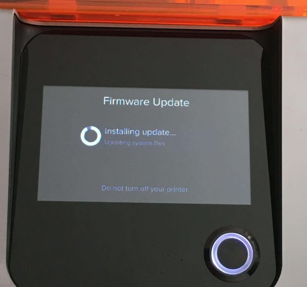 Formlabs Form 2 Review Power Switch