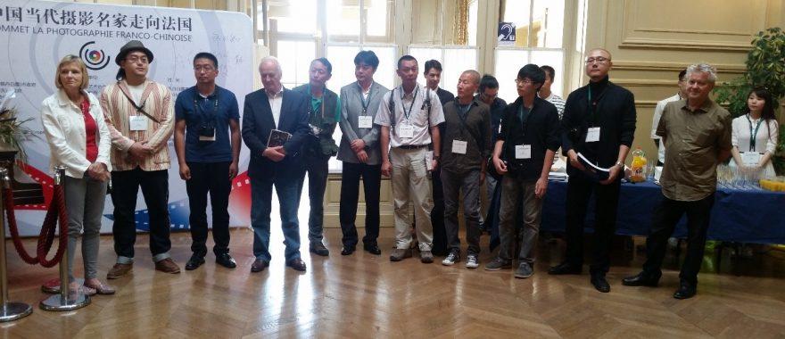 Sommet de la photographie franco-chinois, Théâtre de Fontainebleau, juin 2015.