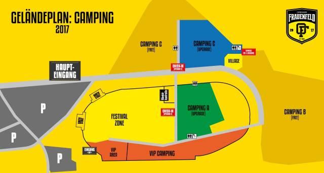 Camping Geländeplan Openair Frauenfeld