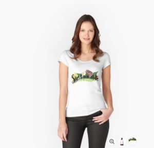 Sustainable Women's Fitted Scoop T-Shirt