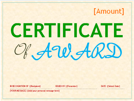 Gift-Certificate-of-Award