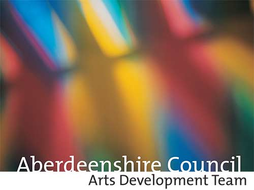 Aberdeenshire Arts Development display panels