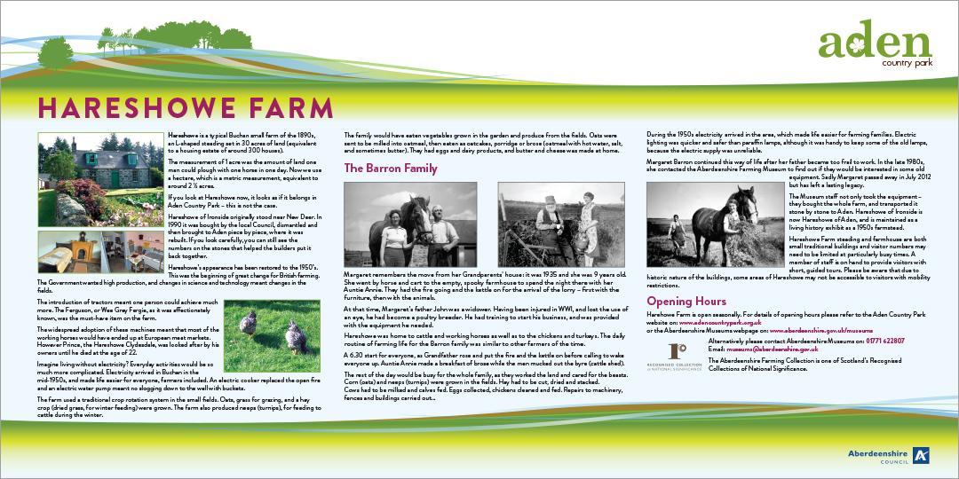 Hareshowe Farm panel