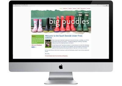 South Deeside Under Fives website