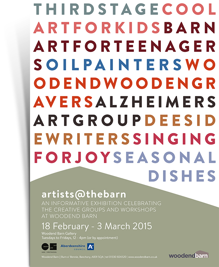 Artists @ The Barn Poster