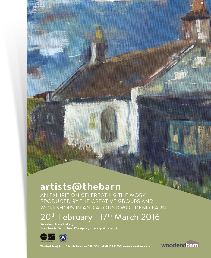 Artists @ The Barn 2016 Poster
