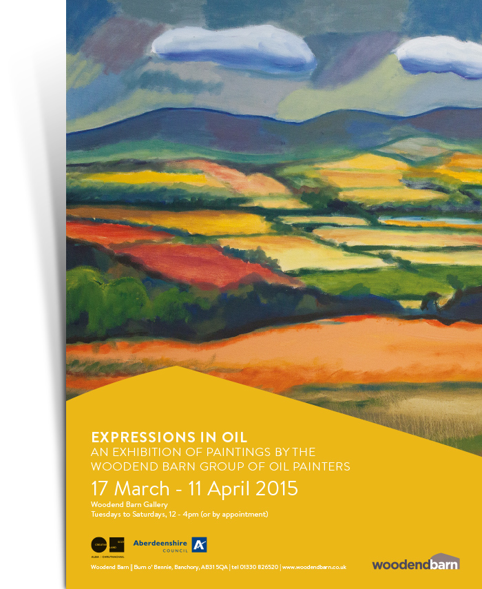 Expressions in Oil Poster