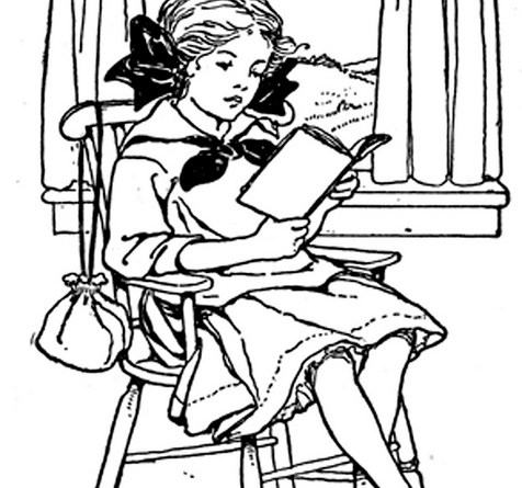Plaisanter - Girl reading by window. Via Flickr.