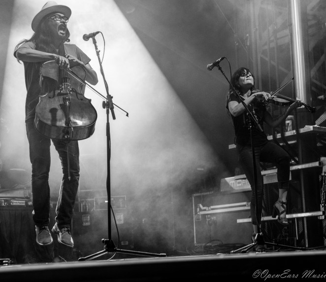 The Avett Brothers at Sloss Fest. Photo By Jamie Platus