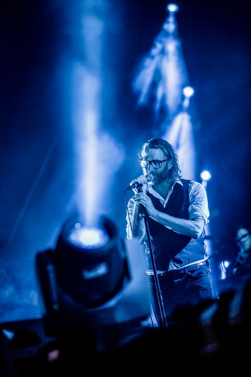 The National at Eaux Claires. Photo By Mike Diskin