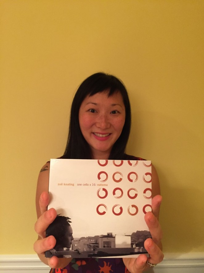 Oryx & Crake's Karyn Lu's influential album: Zoe Keating - One Cello x 16: Natoma
