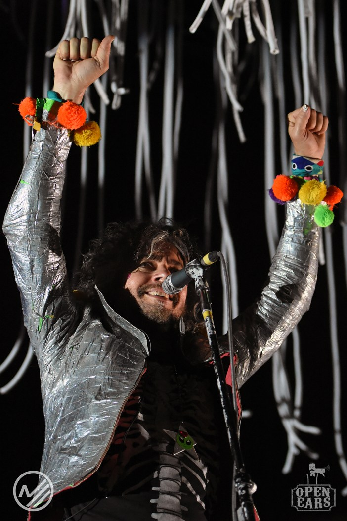 Wayne Coyne of The Flaming Lips. Photo by Art Husband