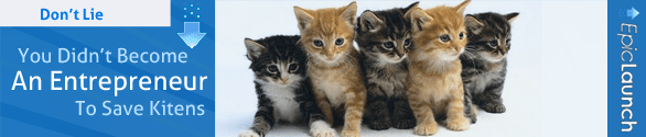 Don't Lie You Didn't Become An Entrepreneur To Save Kittens2