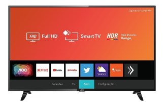 Smart Tv Led 32 Pulgadas Hd Aoc de Philips Hdmi Tda Wifi 32s5295