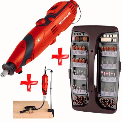 Minitorno Electrico EINHELL 189 Accesorios 135W 32000 RPM TH-MG135E