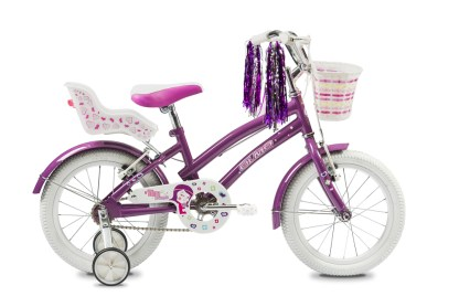 """Bicicleta Olmo Tiny Friends 16"""" Violeta"""
