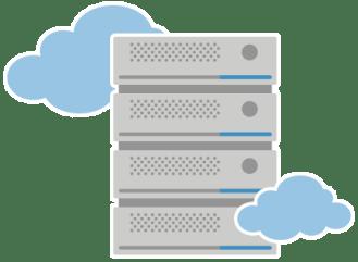 Serveurs virtuels VPS Cloud hosting hébergement de données sur virtual private server