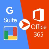 Migration Gmail vers Office 365 avec nouveau service de migration G Suite de O365