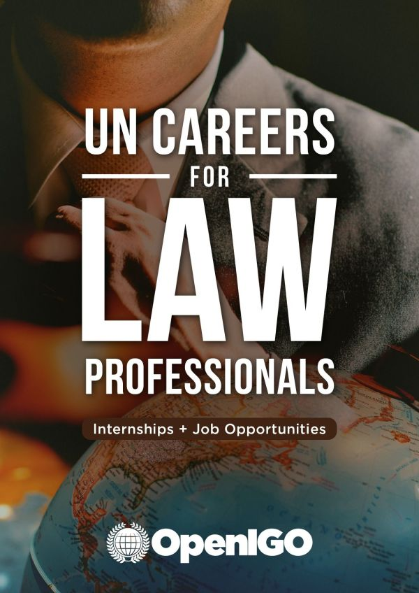 UN Careers for Law Professionals