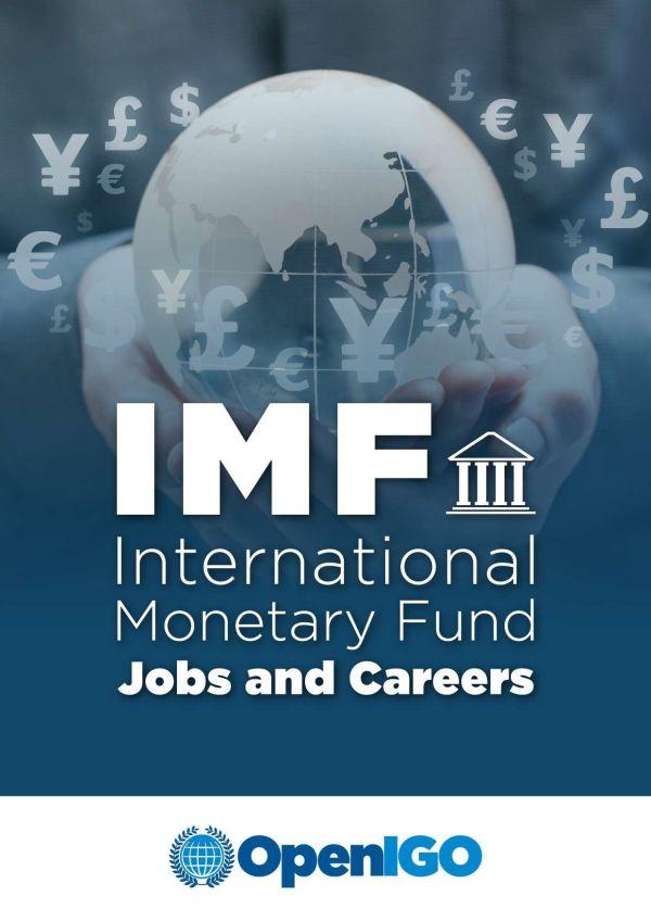 IMF Jobs and Careers