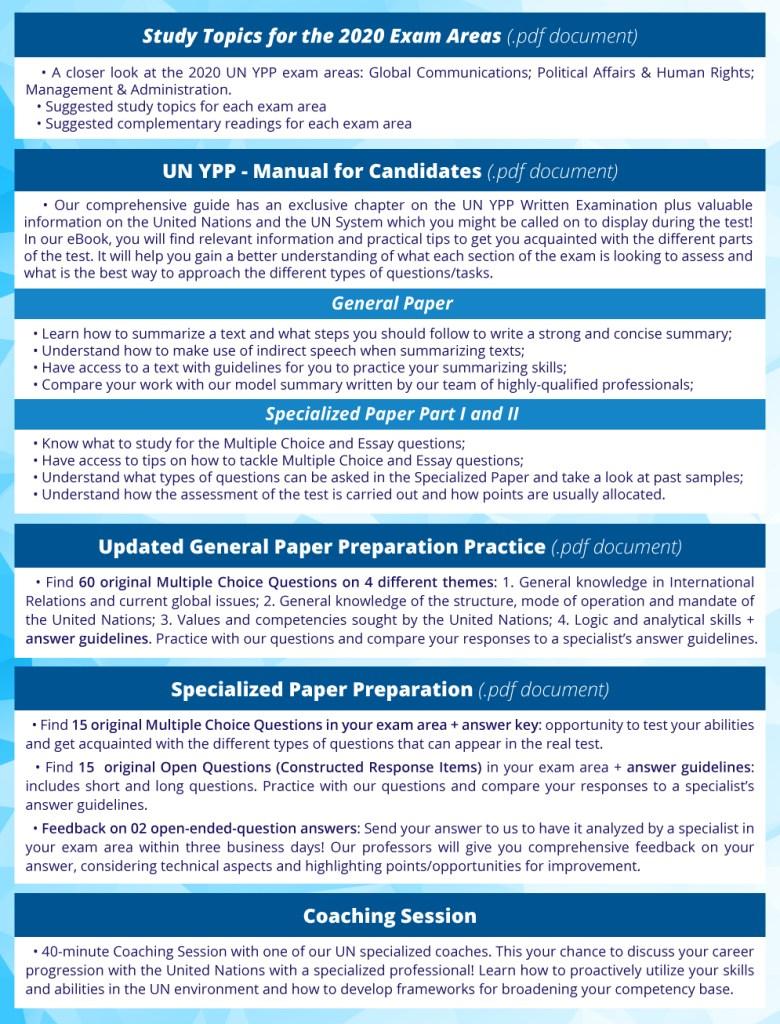 UN YPP Written Exam