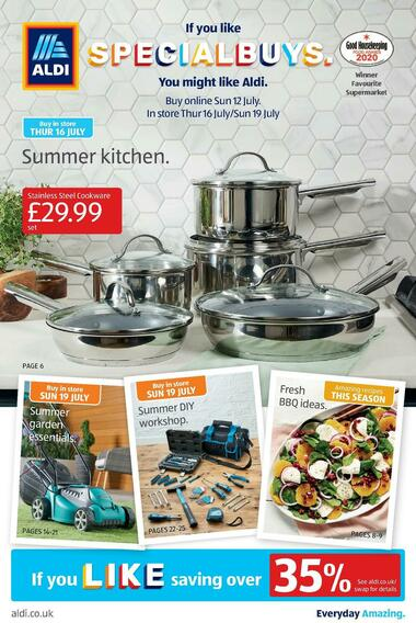 Aldi Uk Offers Special Buys
