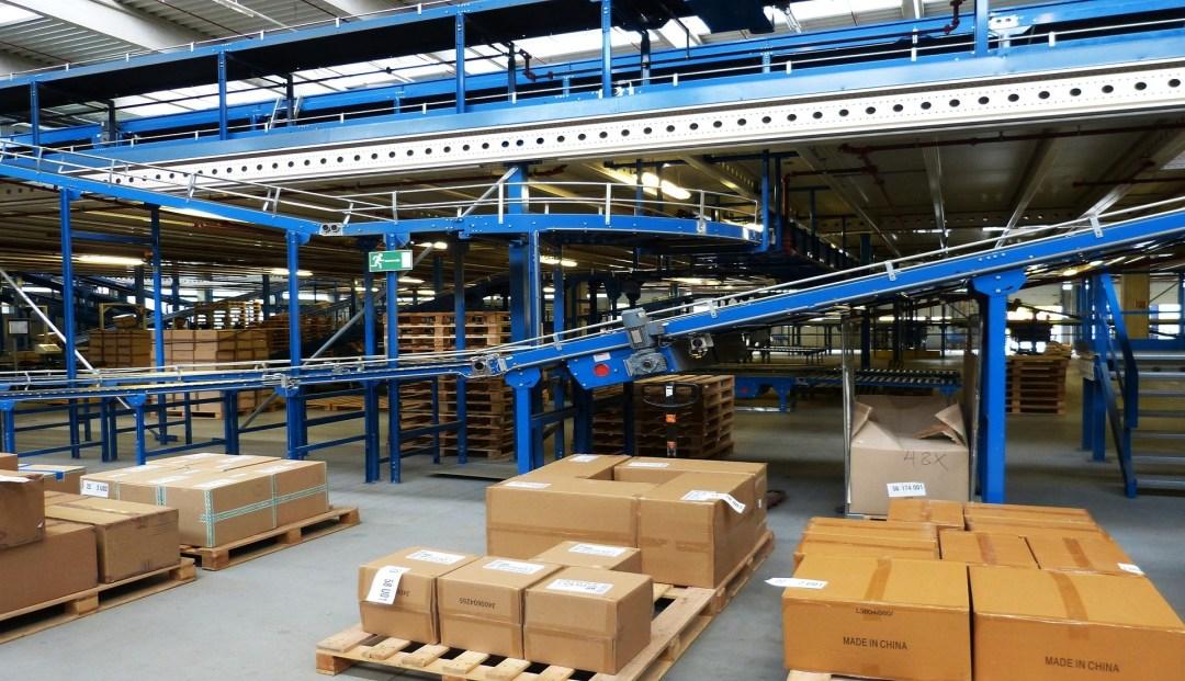 settore logistico per etichette