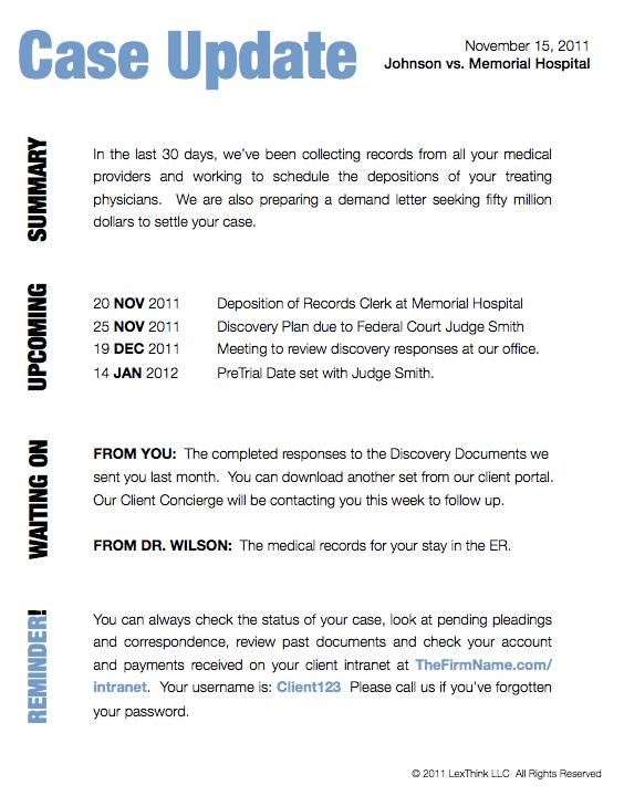 Legal Document Design - Legal Bill 2