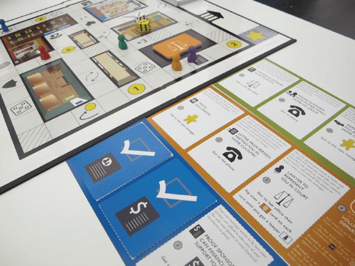 Game design - legal game - Toma El Paso - Make a Move 2