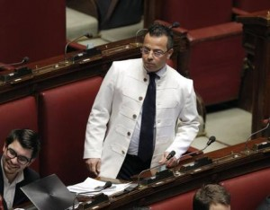 Gianluca Buonanno della Lega Nord (ansa)