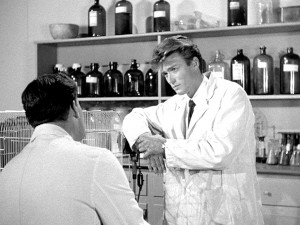 Prima apparizione cinematografica La vendetta del mostro 1955