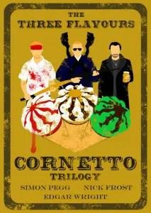 The Three Flavours Cornetto Trilogy