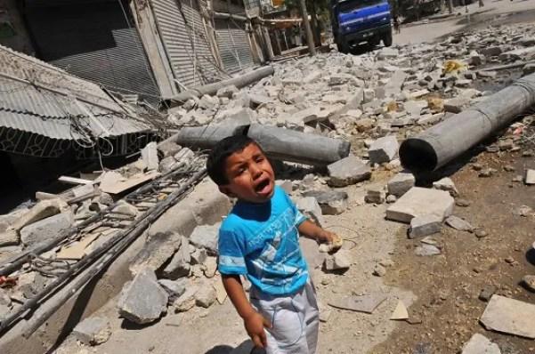 Bombardamenti Siria