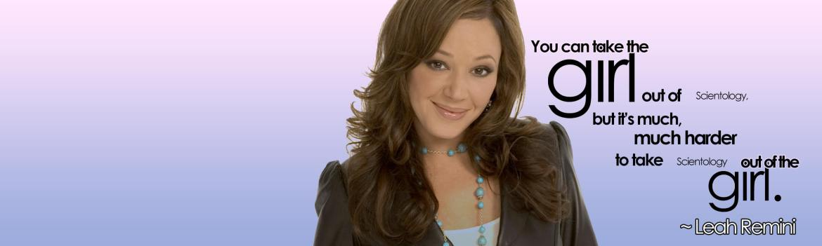 leah remini quote banner