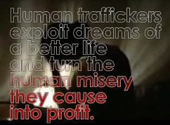 exploiting dreams trafficking