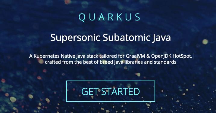 Quarkus Supersonic Java