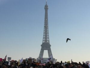 Paris : Women's March
