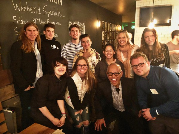 Alumni students and Open Sky staff connect at Alumni Reunion