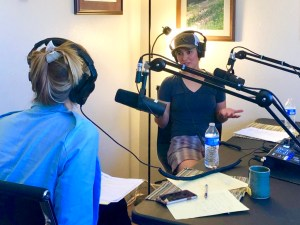 Therapist Mariah Loftin records podcast about wilderness therapy for young adults