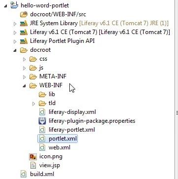 Create Liferay portlet - Liferay MVC In Eclipse